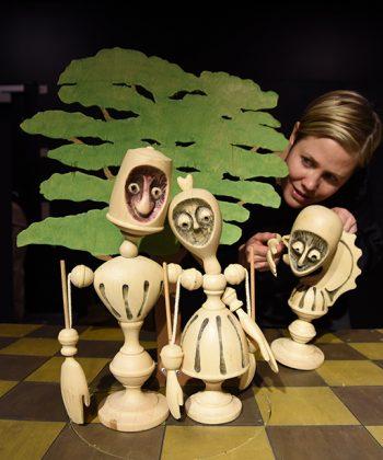 Børnedage på Ordrupgaard. Dukketeater, Passepartout Theatre Production-661px
