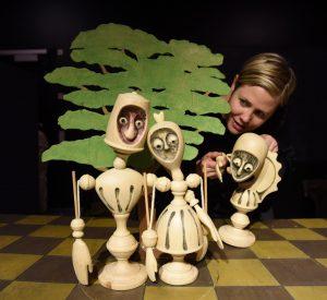 Børnedage på Ordrupgaard. Dukketeater, Passepartout Theatre Production