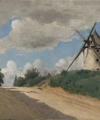 Camille Corot. Moellen. Malet i cirka 1835-40