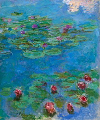 Claude-Monet.-Water-Lilies,-1914-1917-(Fine-Arts-Museums-of-San-Francisco)