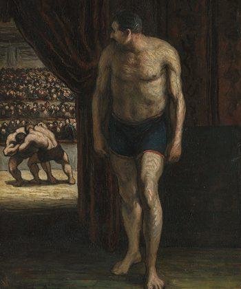 Honoré Daumier. Bryderen. (ca. 1852). Fotograf Anders Sune Berg