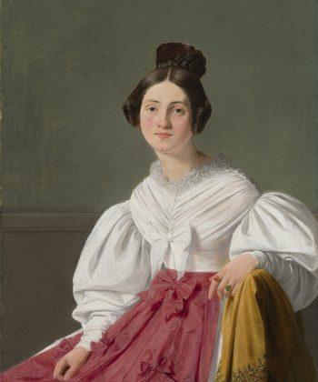 Jørgen Roed. Henriette Thyberg. 1833. Inv.nr. 114 WH. Fotograf Anders Sune Berg