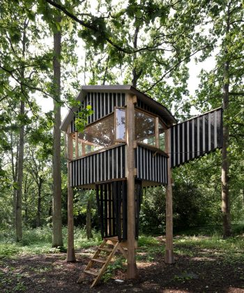 Mitsumasa Fujitsuka, Tree Tea House, 2019.Ordupgaard Kunst Park. Foto Mitsumasa Fujitsuka