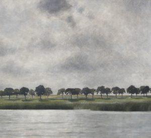 Vilhelm Hammershøi. Solregn. Gentofte Sø. (1903). Deponeret af Augustinus Fonden. Ordrupgaard. Fotograf Anders Sune Berg