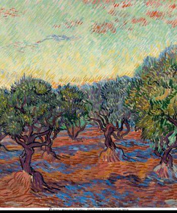 Vincent-van-Gogh.-Olivenlund,-Saint-Rémy,-1889-(Gøteborgs-Konstmuseum)